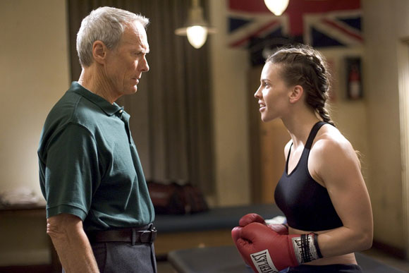 Million Dollar Baby, Hilary Swank, Clint Eastwood