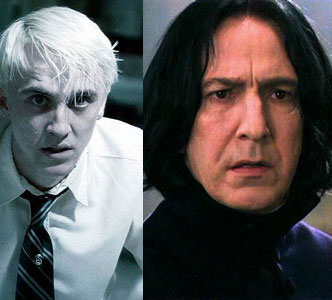 snape, severus, draco malfoy, harry potter, film,