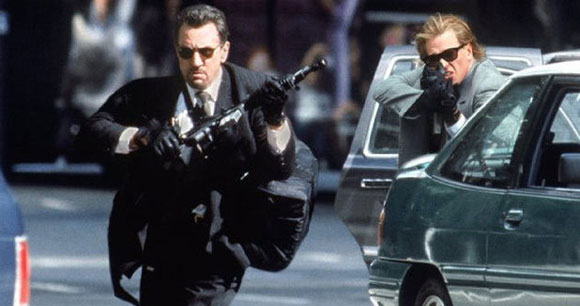 Heat, Mann, De Niro, Pacino, Crime, Top 10 Films,