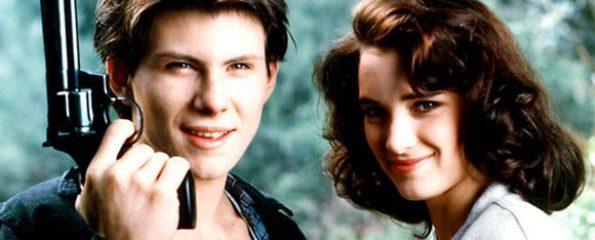 Christian Slater, Winona Ryder, Heathers, Dark teen drama, high school,