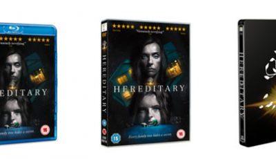 Hereditary - UK DVD and Blu-ray