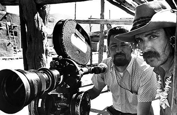 Actor Dennis Hooper steps behind the camera to direct seminal classic Easy Rider