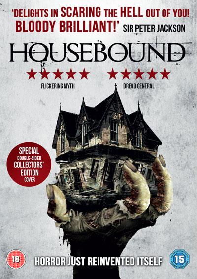 Housebound, UK DVD,