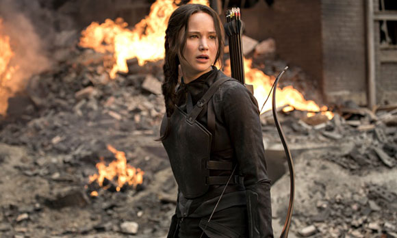 The Hunger Games Mockingjay Part 1, Top 10 Films of 2014