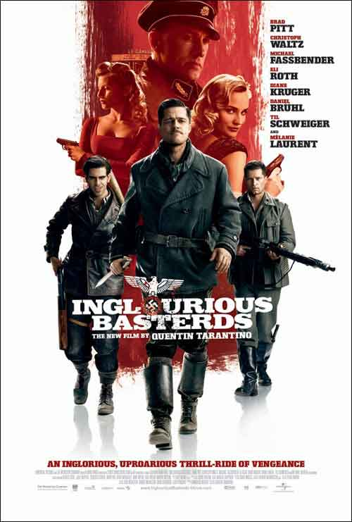 inglorious basterds quentin tarantino best film 2009