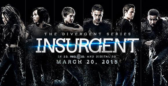 Divergent Insurgent film poster