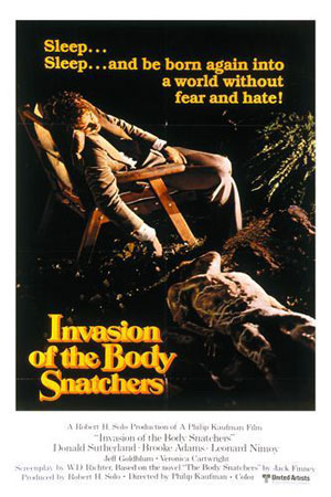 invasion of the body snatchers, film, horror,