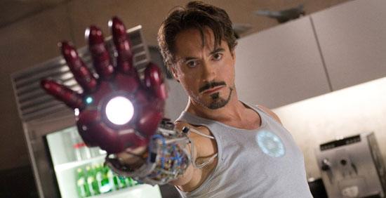 iron man, top 10 robert downey jr films,