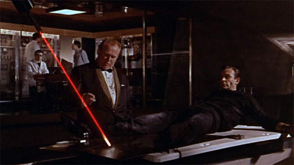"Goldfinger - James Bond's Best ""Near Death"" Experiences - Top 10 Films"