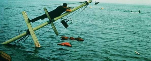 Jaws, Steven Spielberg, Roy Schneider, 1975, shark,
