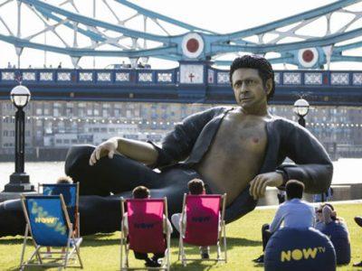 Jeff Goldblum statue - London