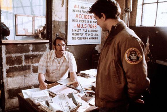 Martin Scorsese's Taxi Driver features Robert De Niro