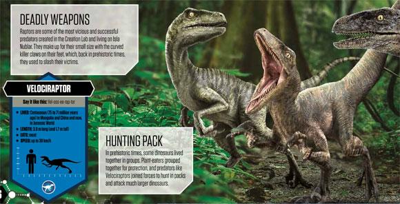 Jurassic World Hardback Interactive Book