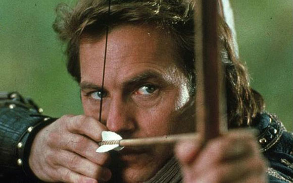 Kevin Costner, Robin Hood Prince of Thieves,