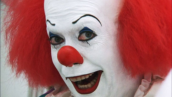 stephen king, It, horror film, based on novel, tommy lee wallace, clown, evil, tim curry,