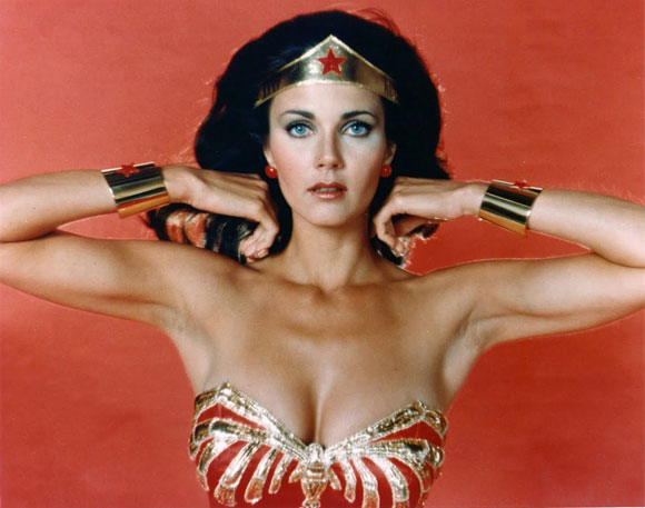 sexy super heroes, wonder woman, lynda carter,