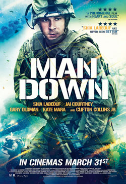 "A Stellar Shia LeBeouf Performance Gives Dita Montiel's ""Man Down"" Something To Cheer"
