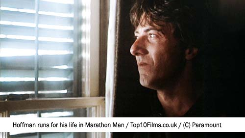 Marathon Man, Dustin Hoffman - Top 10 Films