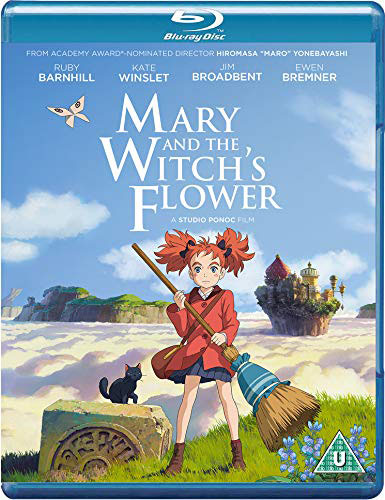 "From Studio Ponoc Comes Ghibli-Inspired ""Mary And The Witch's Flower"" To Home Media September 10"