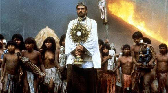 mission-1986-jeremy-irons, Top 10 Films Priests