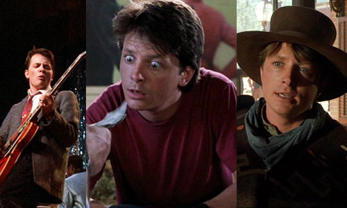 back to the future 1 2 3 I II III michael j fox