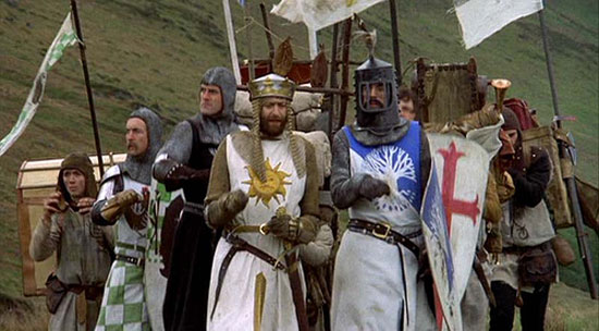 Monty Python and the Holy Grail, Film, gilliam,