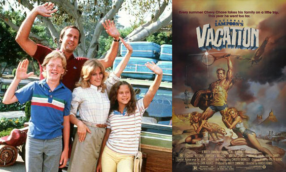 national lampoon's vacation, film, chevy chase, best road trip films,