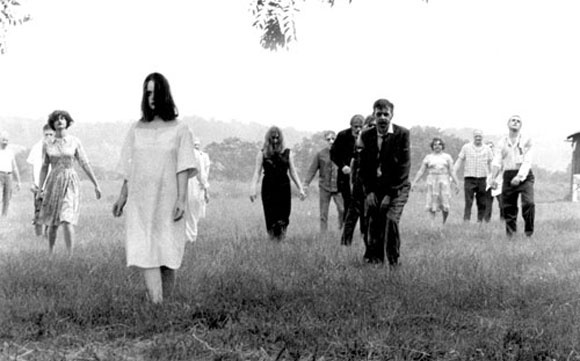 Night of the Living Dead, George A. Romero, cult classic horror movie film, zombies,