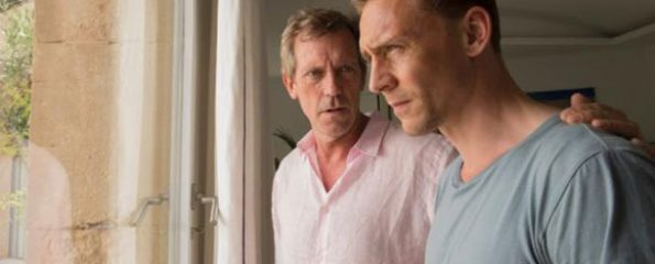 Hugh Laurie and Tom Hiddleston in The Night Manager