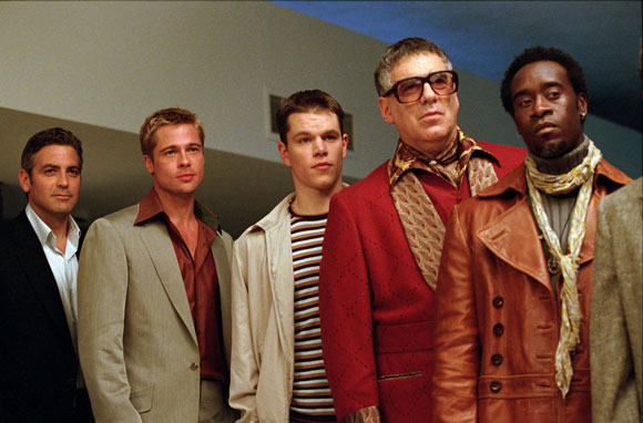 Ocean's 11, Top 10 Films, George Clooney,