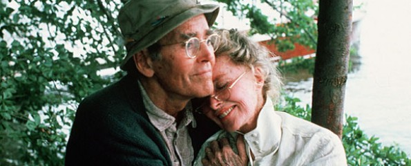 On Golden Pond, Katherine Hepburn, Henry Fonda,