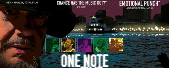 One Note At A Time documentary film poster