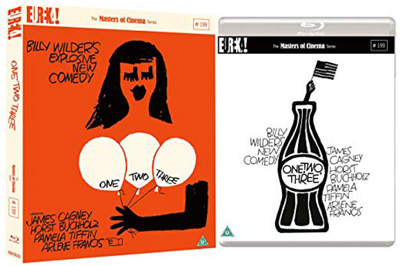 One Two Three UK Blu-ray