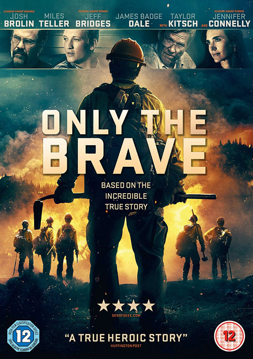 Only The Brave - UK DVD