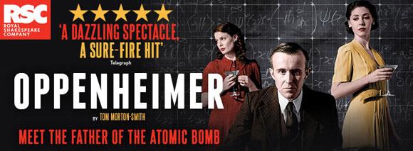 Tom Morton-Smith Oppenheimer, West End, London, Top 10 Films,