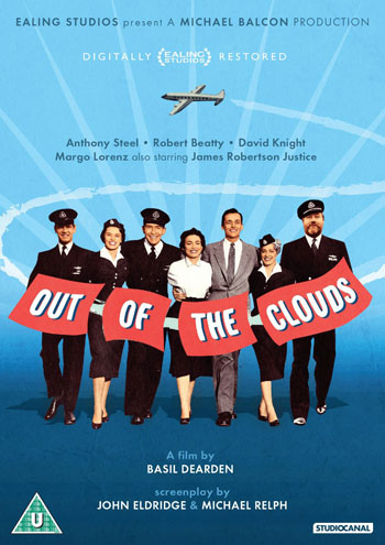 Out of the Clouds DVD, UK,