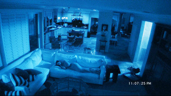 paranormal activity, 31 days of horror, top 10 films,