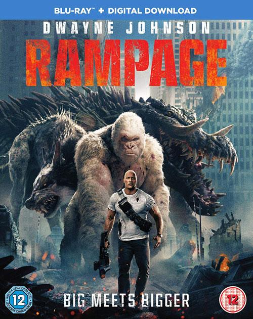 Rampage UK Blu-ray