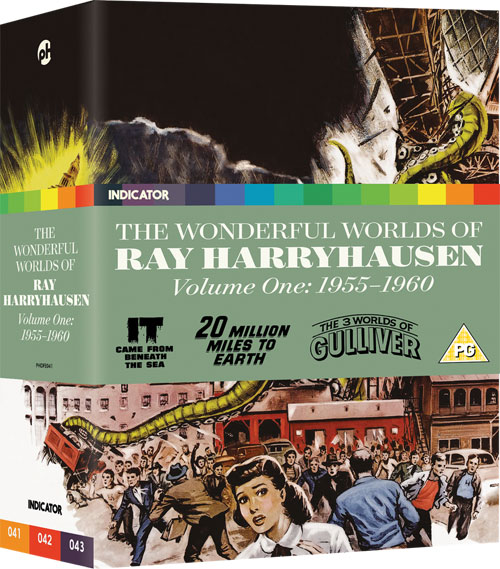 The Wonderful Worlds of Ray Harryhausen, Volume One: 1955-1960