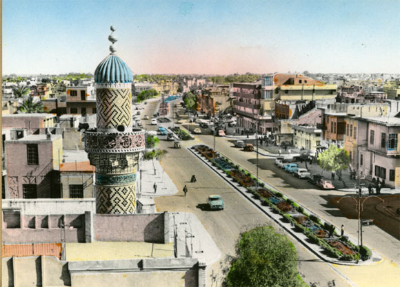 Baghdad in the 1950s - Photo Credit: Remember Baghdad