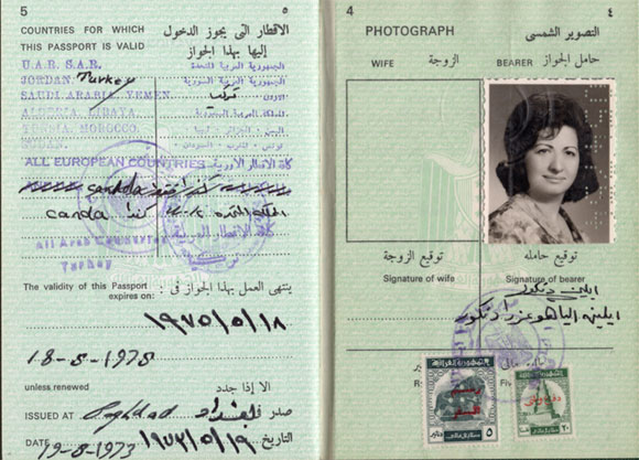 In 1974 Eileen Khalatschy was among the last few hundred Jews to flee Baghdad -  - Photo Credit: Remembering Baghdad