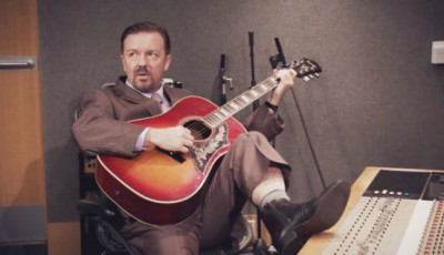 Ricky Gervais in new movie Life on the Road