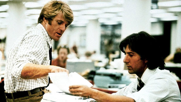 Robert Redford Top 10 Films - All The President's Men