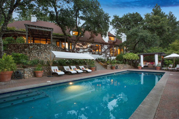 Robert Redford Napa Valley Home for sale - Photo - Open Homes Photography
