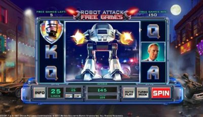 Robocop slot game