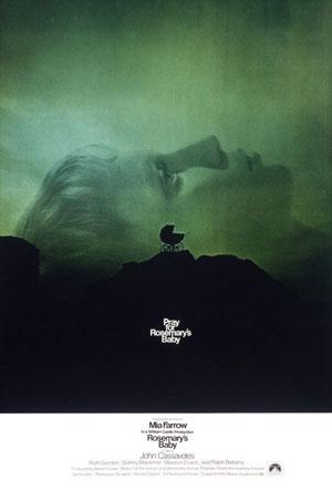 rosemary's baby, film, horror, roman polanski, mia farrow, witches, top ten films,