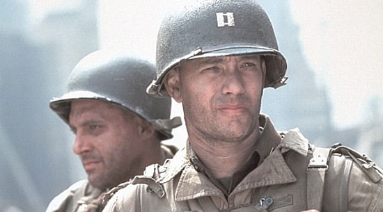 saving private ryan, tom hanks world war 2,