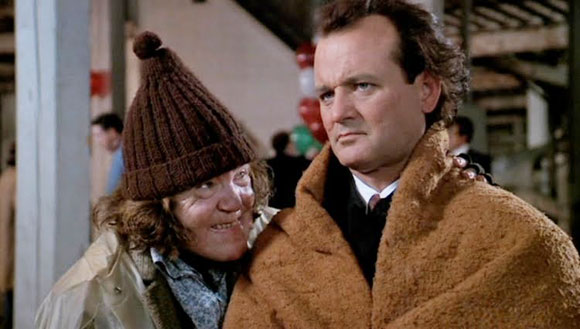 Scrooged, Frank Cross, Bill Murray