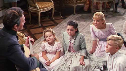 sound of music, julie andrews