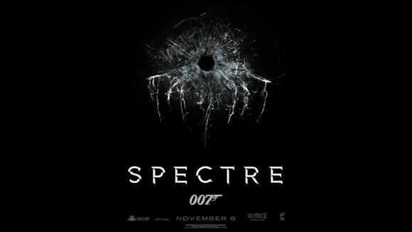 Spectre, New James Bond film poster,